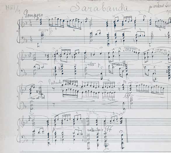 Nuty utworu skomponowanego przez J. Iwaszkiewicza